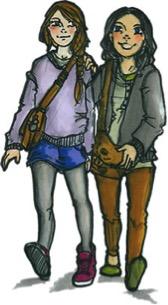 pareja de chicas